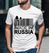 Футболка с надписью Made in Russia