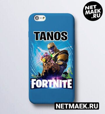 Чехол на телефон Fortnite TANOS
