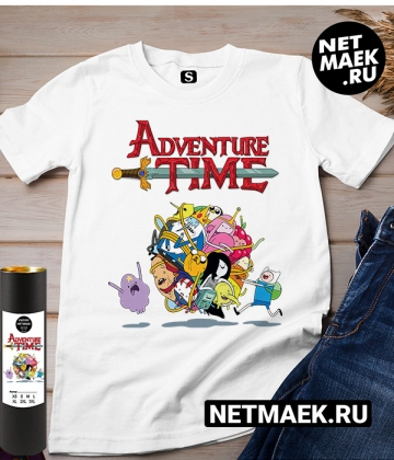 Футболка Adventure Time new