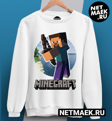 Свитшот Minecraft Arrow